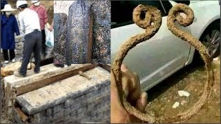 Phát hiện bia mộ cổ trong miếu, trên tấm bia có ghi dòng chữ 'Tề Thiên Đại Thánh'