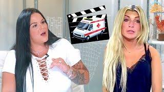 Sarah Fraisou (Les Anges): Mélanie à l'hôpital? «C'est pas vrai,c'était du cinéma !» 💣