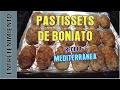 Pastissets de Boniato (Pasteles dulces de boniato)
