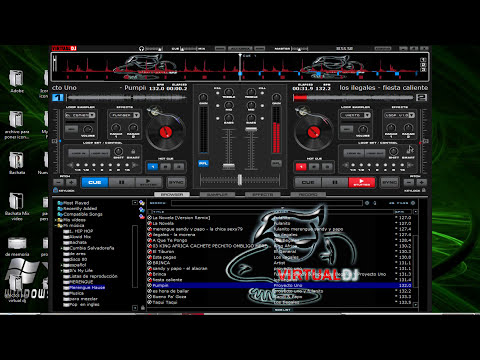 Merengue house mix Virtual dj