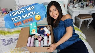 $1000 KOREAN MAKEUP & SKINCARE HAUL