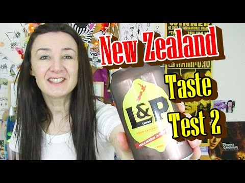 New Zealand Food Taste Test 2