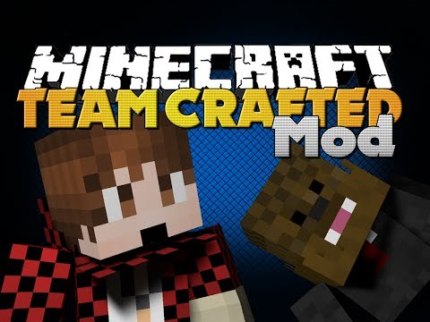 Minecraft Mod - Team Crafted Mod - Merome (Bajan Canadian and Jerome)