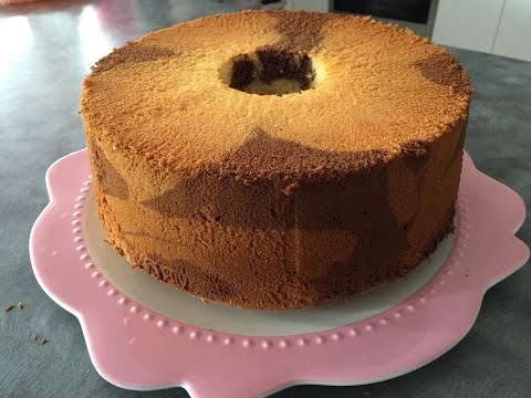 Marble Chiffon Cake