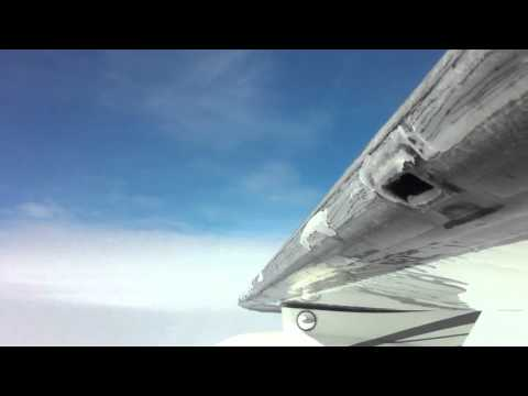 aircraft icing Aircraft icing icao practice test video transcript (corrected) light show falls as air ontario flight 1363 stops in the remote northern community on its way from thunder bay to winnipeg.