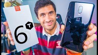 JÁ CHEGOU!! OnePlus 6T - Unboxing