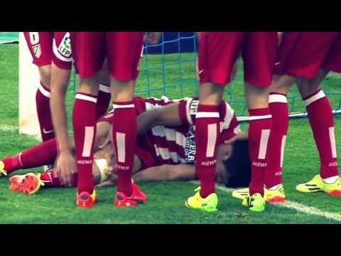 Диего Коста гол травма Horror Injury - Getafe vs Atletico Madrid 0-2 13/04/2014