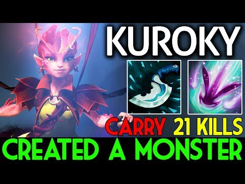 Icefrog CREATED A MONSTER !! Carry Dark Willow by Kuroky Dota 2 Patch 7.07