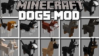 Minecraft PETS MOD / VILLAGERS GO SHOPPING FOR DOGS!! Minecraft