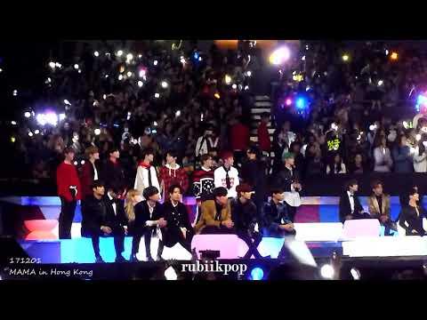 171201 MAMA - EXO The Eve, KoKoBop Reaction: Taemin, NCT127, Got7, Day6, Red Velvet