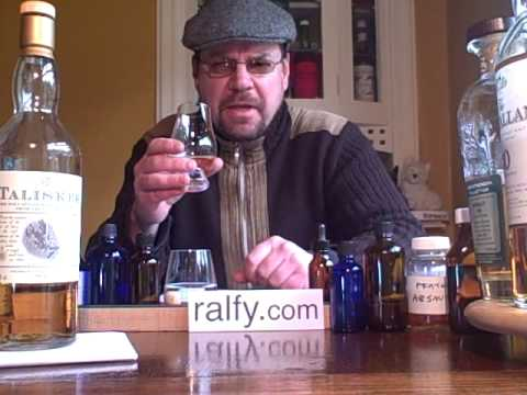 whisky review 1 - Talisker 10 y.o.