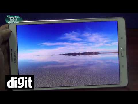 Samsung Galaxy Tab S 8.4 - Video Playback