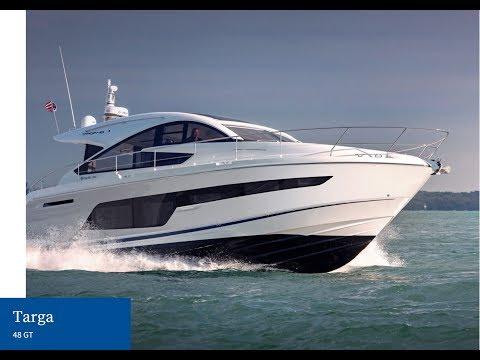 2018 FAIRLINE TARGA 48 at the British Motor Yacht Show