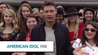 Inside the Idol Auditions with Ryan Seacrest - AMERICAN IDOL XIV