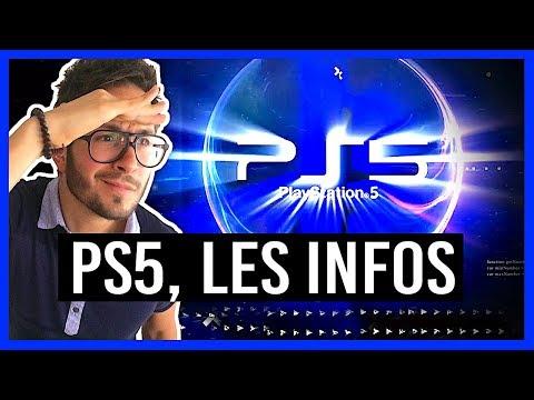 PS5, MES INFOS : puissance, fenêtre de lancement, VR sur PlayStation 5