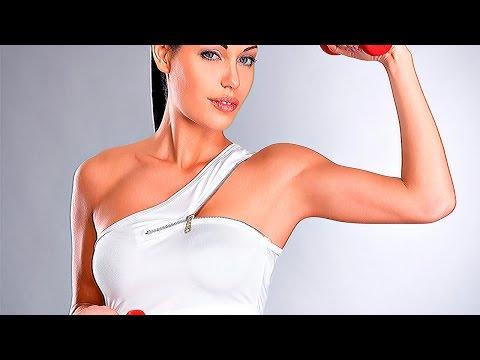 Как накачать руки девушке в фитнес зале