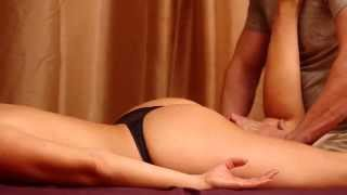 Sensual back, buttocks and hips massage to get better sex - part 2