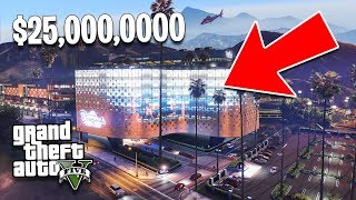 GTA 5 Casino DLC $25,000,000 Spending Spree, Part 1! New GTA 5 Casino DLC Showcase!