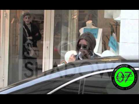 Victoria Beckham shopping in Paris