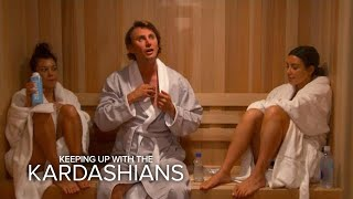 KUWTK | Kourtney & Kim Kardashian Take a Sweat Test | E!