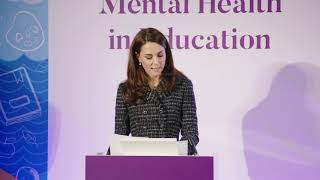 Duchess of Cambridge highlights importance of mental health