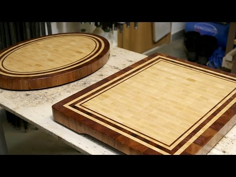 Rectangular and oval boards of the same design