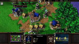 Fly(ORC) vs HawK(HU) - WarCraft 3 Frozen Throne - RN3692