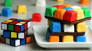 Rubik's Cube Cake •Tasty