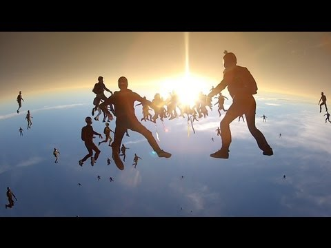 Vertical Skydiving World Record 2012