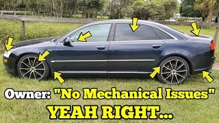 "I Traded my JUNK Porsche Turbo for an Audi with ""No Mechanical Issues"" IT FAILED ON ITS FIRST DRIVE!"