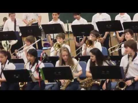 Harbour Pointe Middle School Jazz Band 2014 Spring Concert
