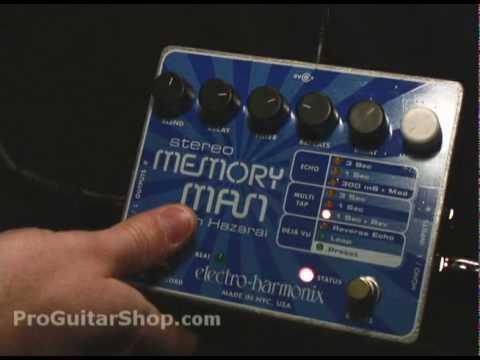 Electro Harmonix Memory Man with Hazarai
