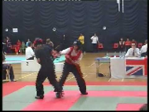 BCCMA British Junior Championships 2004 Kali-Jade Cross Feng Shou/ Kung FuFung Yang Sau Kung Fu Video