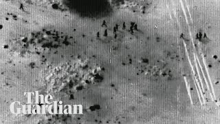 Footage shows US troops trying to escape Niger ambush