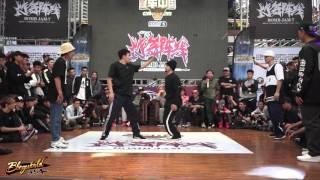 Kowloon & 扬明 vs Top9(Tony rock & Kosto) | 2on2 Battle Quarter-Finals | Bomb Jam Vol.7