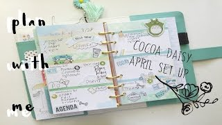 Plan With Me-April Set up with Cocoa Daisy | OhSoFawn