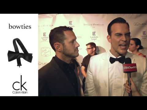 Cheyenne Jackson at the 2014 Lambda Legal's Awards