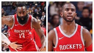 James Harden (29/5/7) and Chris Paul (17/6) Lead Rockets Past Grizzlies | November 18, 2017