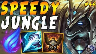 Nasus JUNGLE with MOBILITY = Chilling Smite + Phase Rush + Righteous Glory  | Iron 4 to Diamond #44