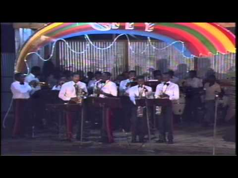 G.B.T.V. CultureShare ARCHIVES 1988: ROYAL GRENADA POLICE BAND 