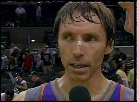 Steve Nash Jokes About Robert Horry Hip Check