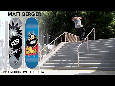 Matt Berger is Pro for Flip Skateboards!