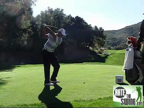 Tiger Woods 2011 Chevron World Challenge Fairway Wood Slow Motion