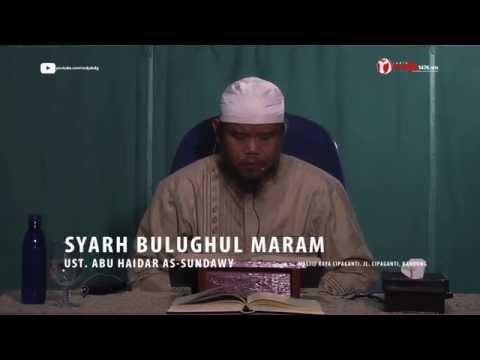 Syarh Bulughul Maram Bab Jum'at Waktu Diijabahnya Doa (ust. Abu Haidar Assundawy)