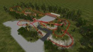 Toy Story Land Slinky Dog Roller Coaster