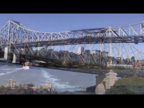 Views Around the City of Brisbane, Queensland, Australia - September 2015