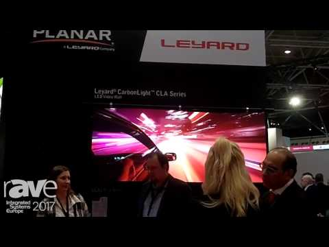 ISE 2017: Planar Leyard Features the CarbonLight Series of LED VideoWall Displays