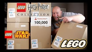 HARRY POTTER EXCLUSIVE ITEM in this $1,553 Amazon Customer Returns LEGO & TOYS Pallet + GREAT BOXES