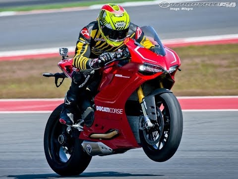 MotoUSA First Ride on the 2013 Ducati 1199 Panigale R