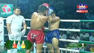 Kun Khmer, លន បញ្ញា Vs រីដា (ថៃ), Lorn Panha Vs Reda (Thai), SEATV boxing 20/4/2019